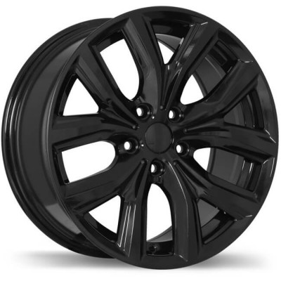 Replika R194 Gloss Black wheel (18X8, 5x112, 66.6, 47 offset)