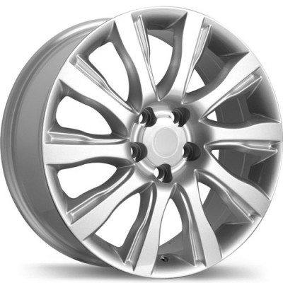 Replika R196 Polished wheel (19X8, 5x120, 72.6, 53 offset)