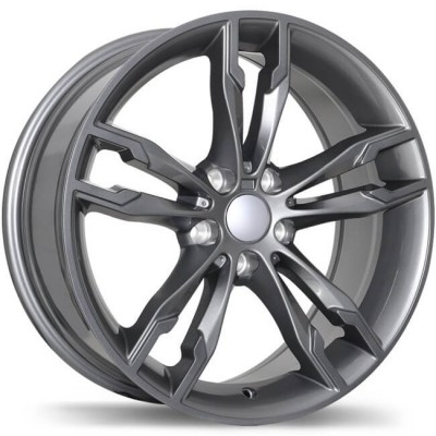 Replika R198 Gun Metal wheel | 18X8, 5x112, 66.6, 30 offset