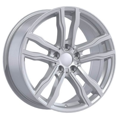 Replika R200 Hyper Silver wheel (18X8.5, 5x120, 74.1, 42 offset)