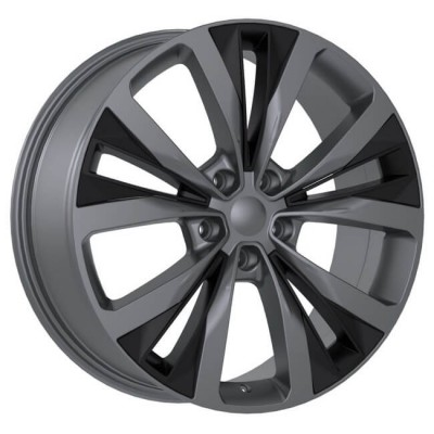 Replika R201 Gun Metal wheel (20X8.5, 5x108, 63.4, 45 offset)