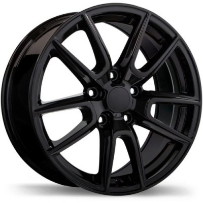 Replika R228 Gloss Black wheel (20X8.0, 5x127, 71.5, 45 offset)