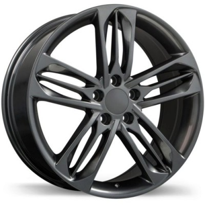 Replika R242 Gun Metal wheel (19X8.0, 5x114.3, 64.1, 50 offset)