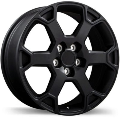 Replika R243 Satin Black wheel (17X7.0, 5x114.3, 60.1, 35 offset)