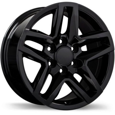 Replika R245 Gloss Black wheel (17X8.0, 6x139.7, 77.8, 24 offset)