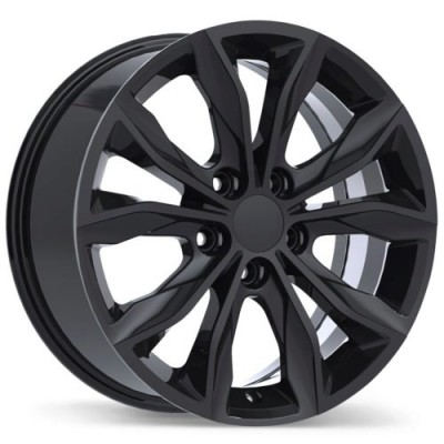 Replika R248 Gloss Black wheel (17X7.5, 5x115, 70.3, 45 offset)