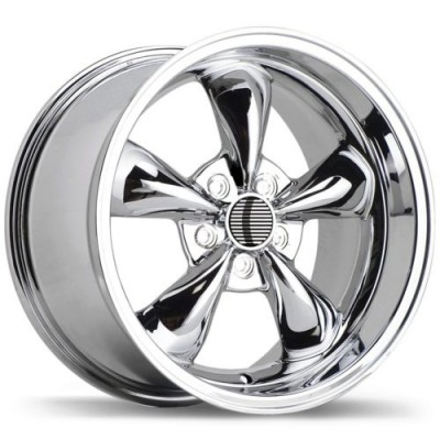 Replika R35A Chrome wheel (17X10.5, 5x114.3, 70.6, 27 offset)
