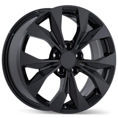 Replika Wheels R192 Gloss Black wheel (16X6.5, 5x114.3, 64.1, 40 offset)
