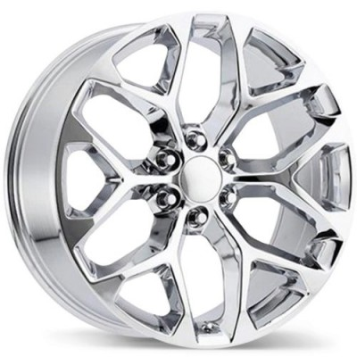Replika Wheels R203 Chrome wheel (24X10.0, 6x139.7, 78.1, 31 offset)