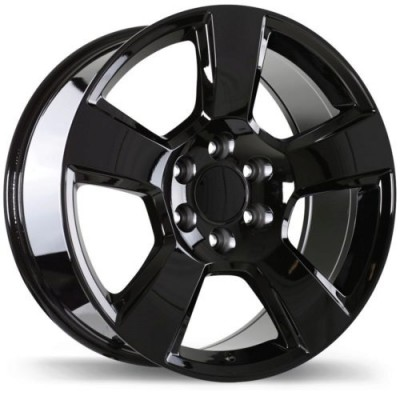 Replika Wheels R211 Gloss Black wheel (20X9.0, 6x139.7, 78.1, 27 offset)