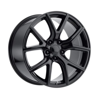 Replika Wheels R217 Gloss Black wheel (20X10.0, 5x127, 71.5, 50 offset)