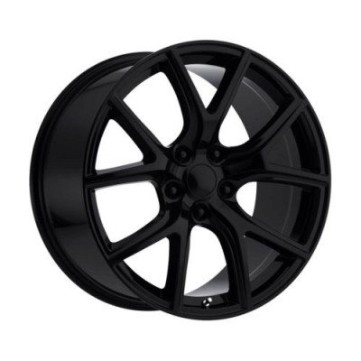 Replika Wheels R217 Satin Black wheel (20X10.0, 5x127, 71.5, 50 offset)