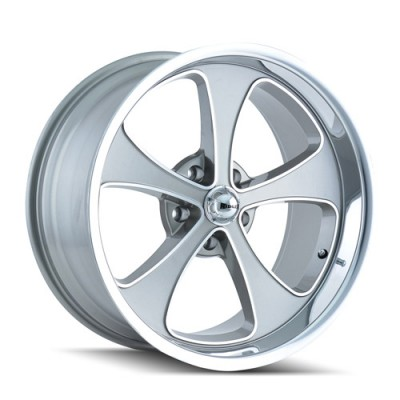 Ridler 645 Machine Grey wheel (17X7, 5x120.65, 83.82, 0 offset)