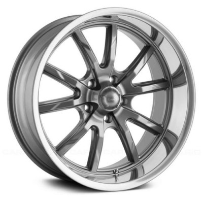 Ridler 650 Grey wheel (15X8, 5x120.65, 83.82, 0 offset)