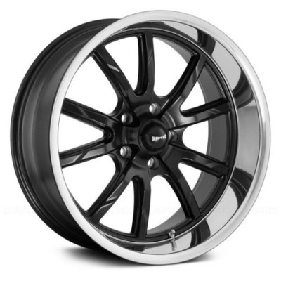 Ridler 650 Matte Black wheel (15X8, 5x120.65, 83.82, 0 offset)