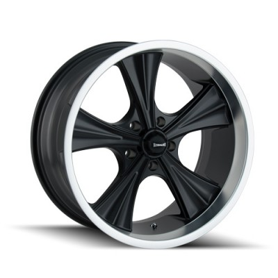 Ridler 651 Matt Black Machine wheel (20X10, 5x120.65, 83.82, 0 offset)