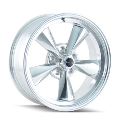 Ridler 675 Polished wheel (17X7, 5x114.3, 83.82, 0 offset)