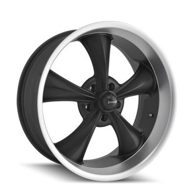 Ridler 695 Matt Black Machine wheel (17X7, 5x120.65, 83.82, 0 offset)