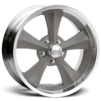 Rocket Wheels Booster Machine Grey wheel (17X8, 5x127, 87.6, 0 offset)