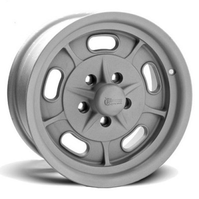 Rocket Wheels Igniter Matte Silver wheel (15X6, 5x120.7, 78.1, 0 offset)
