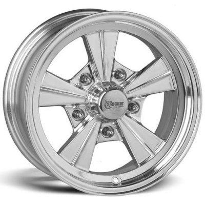 Rocket Wheels Strike Polished wheel (15X6, 5x120.7, 78.1, -6 offset)