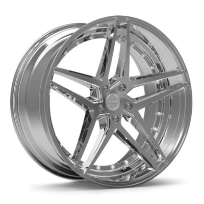 ROSSO REACTIV Chrome wheel (20X10, 5x114.3, 73.1, 38 offset)