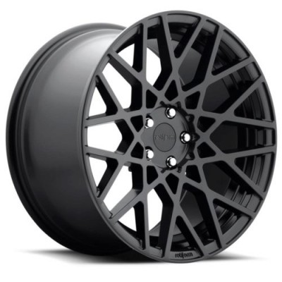 Rotiform BLQ R112 Matte Black wheel (18X9.5, 5x100, 57.1, 25 offset)