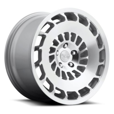Rotiform CCV R135 Machine Silver wheel (19X8.5, 5x105, 66.5, 35 offset)