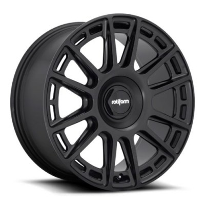 Rotiform R159 Matte Black wheel (19X8.5, 5x112, 72.5, 35 offset)