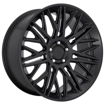 Rotiform RC164 Matte Black wheel (22.00X10.00, 6x139.70, 106.1, 30 offset)