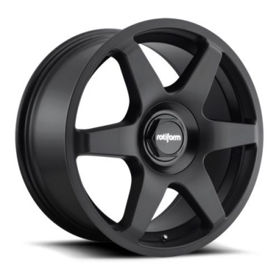 Rotiform SIX R113 Matte Black wheel (18X8.5, 5x100/112, 66.5, 35 offset)