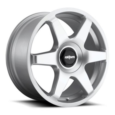 Rotiform SIX R114 Hyper Silver wheel (19X8.5, 5x108/114.3, 72.6, 45 offset)