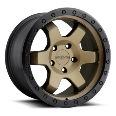 Rotiform SIX R150 Bronze wheel (17X9, 5x127, 71.8, 1 offset)