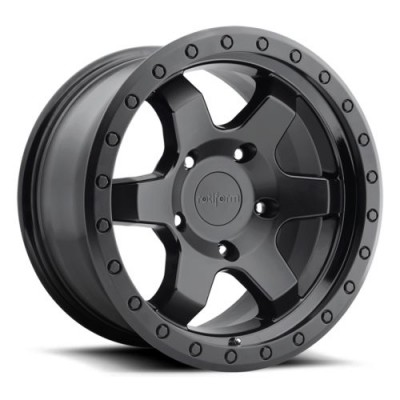 Rotiform SIX R151 Matte Black wheel (17X9, 5x127, 71.8, 1 offset)