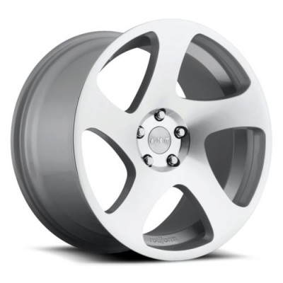 Rotiform TMB R130 Machine Silver wheel (18X8.5, 5x120, 72.6, 45 offset)