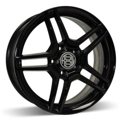 RSSW Cruiser Gloss Black wheel (16X6.5, 5x100, 73.1, 40 offset)