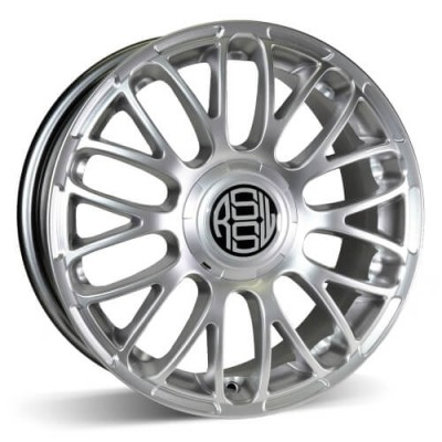 RSSW Custom Hyper Silver wheel (18X8, 5x120, 72.6, 35 offset)