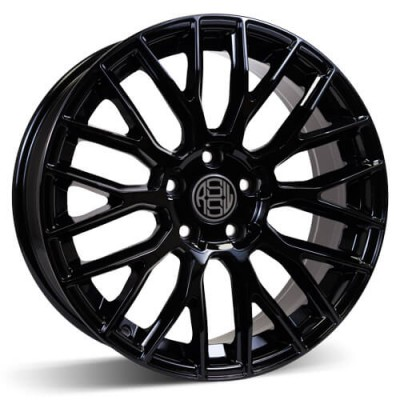 RSSW Custom Gloss Black wheel | 18X8, 5x120, 72.6, 35 offset