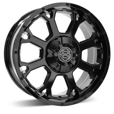 RSSW Enduro Gloss Black wheel (17X7.5, 5x127, 71.56, 25 offset)