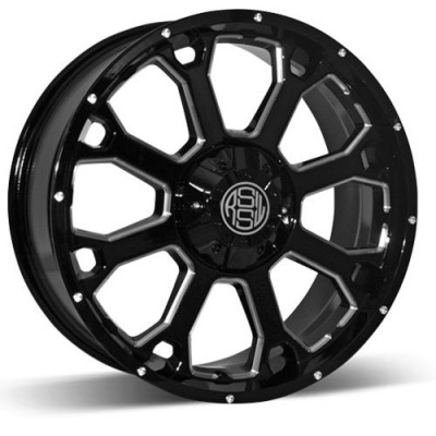 RSSW Enduro Machine Black wheel (17X7.5, 5x127, 71.56, 25 offset)