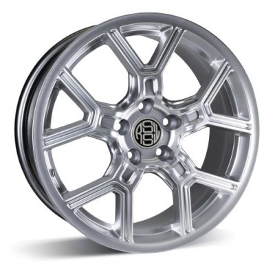 RSSW Faith Hyper Silver wheel (18X8, 5x108, 63.4, 42 offset)