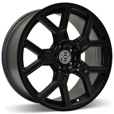 RSSW Faith Gloss Black wheel | 17X7.5, 5x108, 63.4, 40 offset