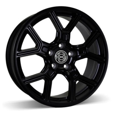 RSSW Faith Matte Black wheel (17X7, 5x110, 65.1, 40 offset)