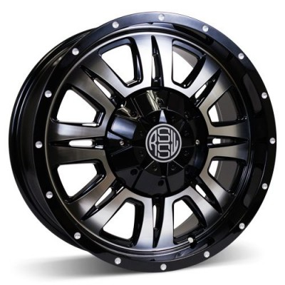 RSSW Heritage Machine Black wheel (16X7.5, 8x165.1, 117, 10 offset)