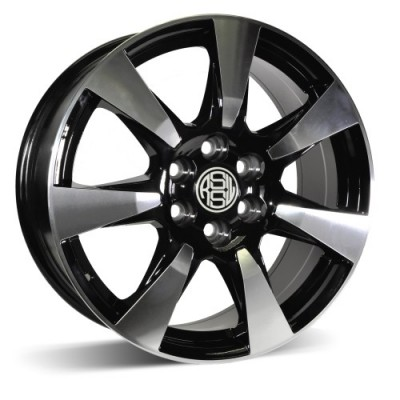 RSSW Iron Machine Black wheel (18X8, 6x120, 67.1, 53 offset)