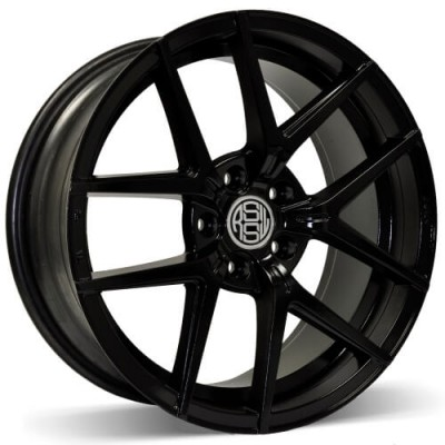 RSSW Lambda Gloss Black wheel (18X8, 5x114.3, 73.1, 28 offset)