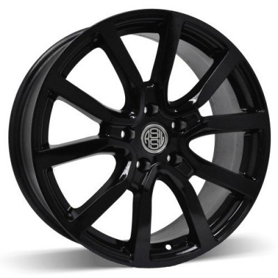 RSSW Mayfair Gloss Black wheel (16X6.5, 5x114.3, 67.1, 45 offset)