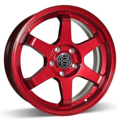 RSSW Rival Red wheel (17X7, 5x114.3, 73.1, 35 offset)