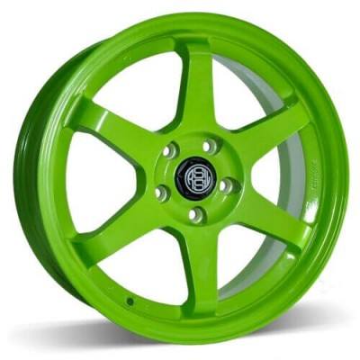 RSSW Rival Green wheel (17X7, 5x114.3, 73.1, 35 offset)