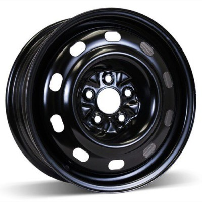 RSSW Steel Wheel Gloss Black wheel (16X6.5, 5x114.3, 71.5, 40 offset)